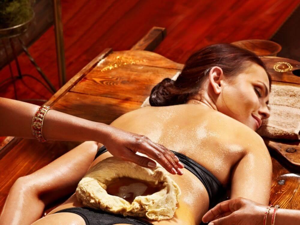 lower back pain massage oil